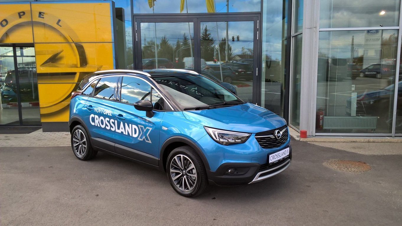 Opel Crossland X Ultimate 1.6 DTH 88kW/120k MT6